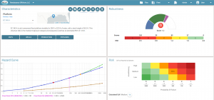 UI of oil and gas land management software
